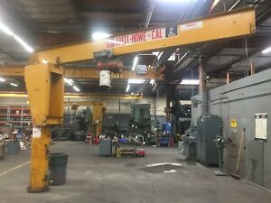 Abell howe 2 ton Jib Crane 2 Units Available ontario Calif