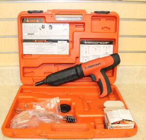 Ramset Cobra Plus Powder actuated Fastening Tool W Case Pre owned
