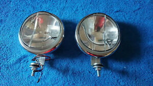 Vintage Bosch Driving Lights Mercedes Porsche 356 Vw Beetle Split Bus