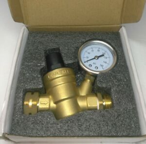 3 4 Nh Threading Water Pressure Reducing Valve Lead free Brass Adjustable Usa