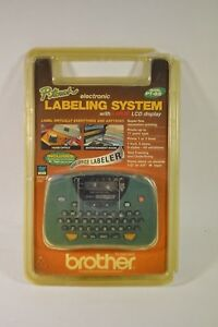 Brother Pt 65 P touch Home And Hobby Labeler With Lcd Screen Green