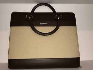 Day Runner 313 0307 Attache Organizer Size 5 Leather Canvas 8 5 X 11 Pages