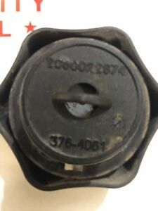 Caterpillar Cat Locking Fuel Cap With Keys Diesel Gas Keyed 376 4061