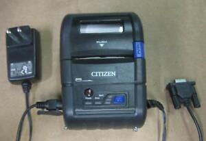 Citizen Cmp 20bt Mobile Thermal Printer Usb Charger