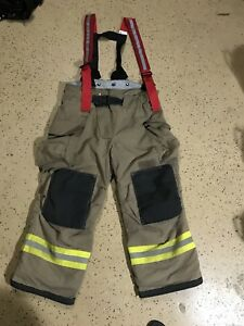 Veridian Firefighter Suits Fire Turnout Pants Bunker Gear 42 28 02 2009