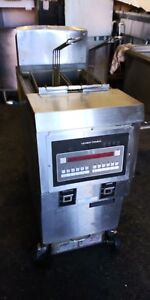 Henny Penny Ofg 321 Two Basket Open Fryer W Filter System Natural Gas