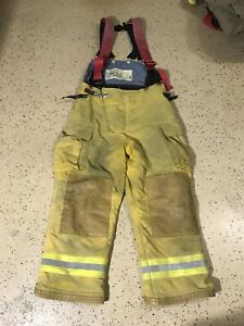 Quaker Safety Firefighter Suits Fire Turnout Pants Bunker Gear 40 29 04 2010