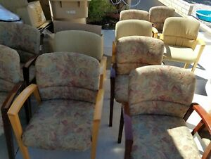 Lot Of 16 Guest Reception waiting Room office Chairs