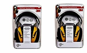 3m Worktunes Hearing Protector Mp3 Compatible With Am fm Tuner case Of 2