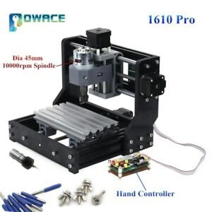 Cnc 1610 Pro Grbl 3 Axis Diy Mini Pcb Wood Milling Laser Engraver Router Machine