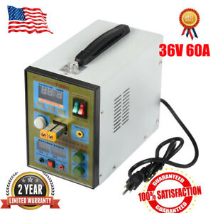 788h Led Dual Pulse Spot Welder 18650 Battery Charger 800a 0 1 0 2 Mm 36v 60a