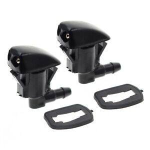 2x Windshield Wiper Washer Nozzle Spray Jet For Gmc Buick Enclave Chevy Traverse