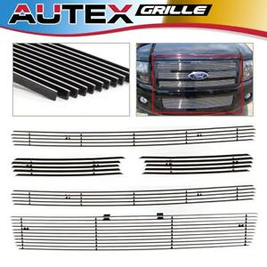 Polished Billet Grille Combo Bolton Fits 2007 2014 Ford Expedition