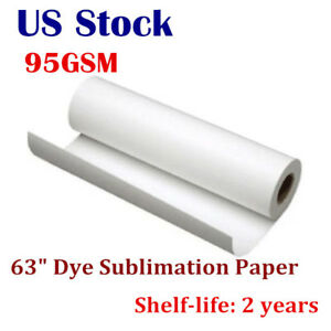 Us 95gsm 63 Hanji Dye Sublimation Paper For Heat Transfer Printing
