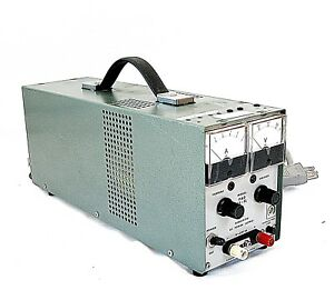 Kikusui Pad 35 5l 0 35v 0 5a Linear Variable Regulated Metered Dc Power Supply
