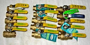 3 4 Sweat Brass Ball Valve Ipt Lead Free Nl 15 Lot 6 25 Ea Cost Free ship
