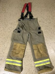 Fire Dex Firefighter Suits Fire Turnout Pants Bunker Gear 34 29 03 2010