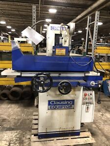 Clausing Csg 3a618 3 axis Hydraulic Surface Grinder 6 X 18 Magnetic Chuck Sh