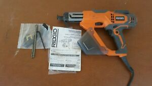 Ridgid R6791 1 In 3 In Electric corded Drywall Deck Collated Screwdriver