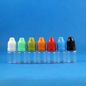 5 Ml Pet Plastic Dropper Bottle With Child Proof Child Safe Caps 1000 Pieces
