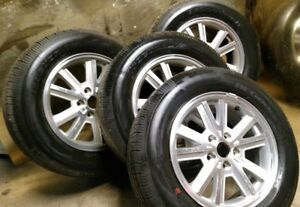 Used Oem Wheels Tires 05 09 Ford Mustang 16 5x115 5x4 5 215 65 r16 W centers