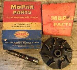 1953 54 Plymouth Dodge Chrysler Water Pump Repair Pkg Nos Mopar Part 1603 343