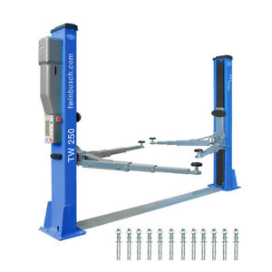 2 Post Lift 11000 Lbs Twin Busch Car Lift Tw 250
