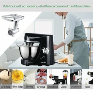 Outad 2 In 1 Industrial 650w Electric Meat Grinder Mixer Steel Kitchenaid 1hp Ma
