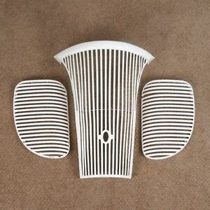 1941 Ford Center Grille With Side Fender Grilles 3 Piece Set 41