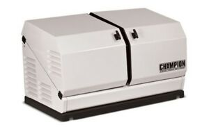 Champion 100237 14kw Standby Power Backup Generator Lp Propane Ng Gas 120 240v