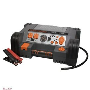 Portable Power Station Peak Instant Amps Inverter Air Compressor Accessories New