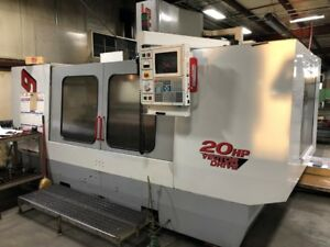 Used Haas Vf 9 Cnc Vertical Machining Center Mill Gear Box Ct40 Rigid Machine 98