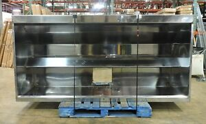 Stainless Steel 8 Exhaust Hood With Fan