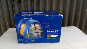 Yellow Jacket 95760 Recoverxlt Refrigerant Recovery Machine 2018 Model