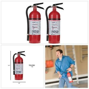 Fire Extinguisher Twin Pack Mounting Bracket Pressure Guage Rust Resistant New