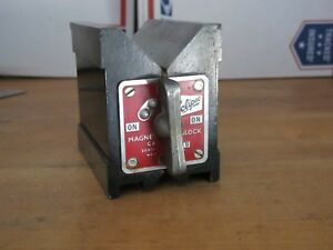 Magnetic V Block Eclipse No 934 Magnetic V Block On Off Switch Usa