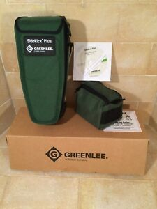 New In Box Greenlee Sidekick Plus Cat No 1155 5010 Part No 52064730