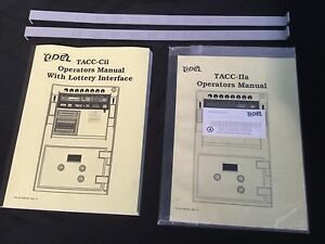 Locksmith Tidel Tacc cii Tacc iia Operators Manuals 2 Tube Dipstick Readers