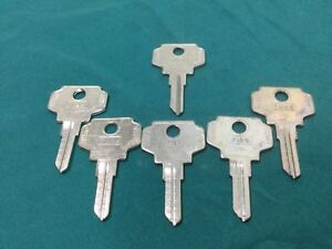 Bargman By Curtis In26 In27 Key Blanks Set Of 6 Locksmith