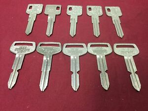 Renault Peugot Amc Toyota By Curtis Ilco Key Blanks Set Of 10 Locksmith