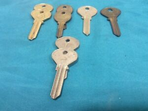 Ilco Curtis Taylor Brand Key Blanks Set Of 8 Locksmith
