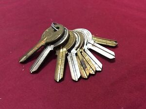 Reese By Curtis R1 Key Blanks Set Of 9 Locksmith