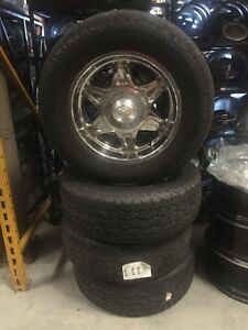 Used American Racing Ar635 Wheels And Tires 18x8 25et 6x5 5 Am 103