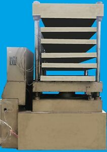 Phi 100 Ton Molding 4 Post Hydraulic Press Electric Heat Water Cooled System