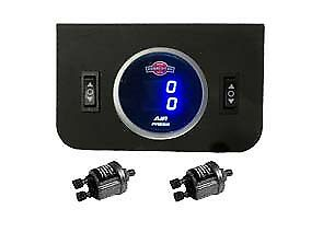 V Digital Air Ride Gauge Display Panel 2 Switches 200psi Suspension System