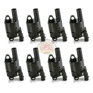 Set Of 8 Ignition Coil For Buick Chevrolet Gmc Cadillac Hummer D514a 6 0l 5 3l
