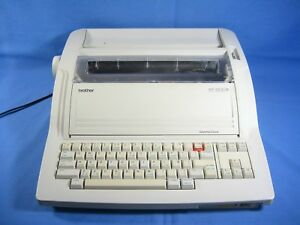 Brother Wp 3600 D Word Processor Electric Typewriter Floppy Works Ribbon