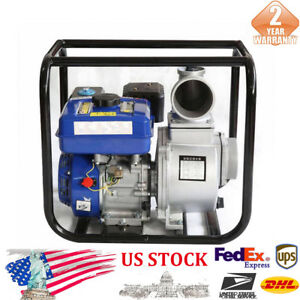 New 2 Inch Gasoline Power Pump 3 6l Us High Pressure 6 5hp Garden Irrigation