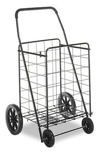 Shopping Utility Cart Heavy Duty Multi Use Jumbo Load Transport Groceries Sport