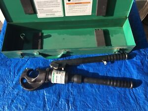 Greenlee 1983 Hydraulic Hand Crimper In Box